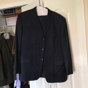 JONES NEW YORK Men's Suit Jacket Navy Blue